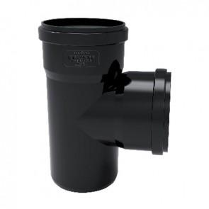 Derivazione phono black 87° mf diam. 100/50
