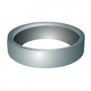 Guarnizione wc con anello di bloccaggio d. 116 - pp bianco
