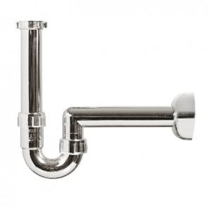 """Sifone per lavabo abs metallizzato 1""""1/4 - 1"""" - d. 40 mm"""