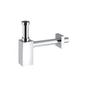 """Sifone """"piquadrato"""" per lavabo abs 1"""" 1/4 - 32x250 mm"""