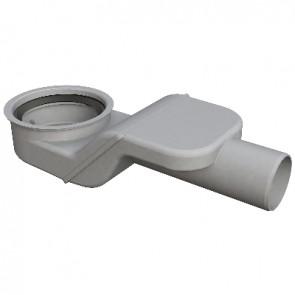 Sifone sogliola piatto per scarichi pavimento scarico d. 50 - h.75 mm