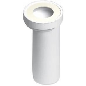 Manicotto eccentrico per w.c. con terminale liscio diam. 90 mm