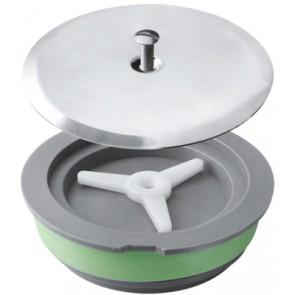 Tappo ad espansione per sifoni a pavimento piattello 125 mm diam. 100 - piattello 125mm