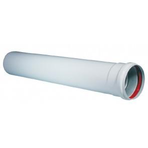 Prolunga mf dn 80 (sdoppiato) lungh. 2000 mm.