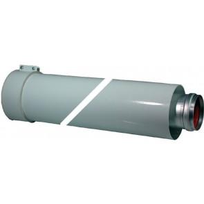 Prolunga dn 60/100 (coassiale) lungh. 1000 mm.