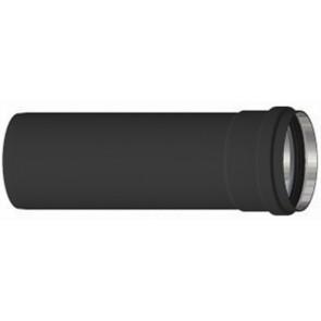 Tubo alluminio nero h 250 mm diam. 80