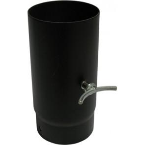Tubo porcellanato h250 c/valvola di regolazione scarico diam.120