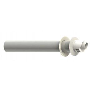 Kit terminale aspirazione/scarico coassiale per condensazione diam. 60/100