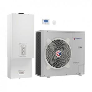 Sistema ibrido caldaia a condensazione e pompa di calore pigma hybrid metano - gpl 30 kw / 6 kw