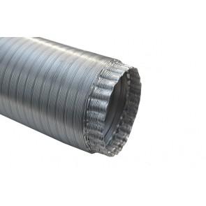 Tubo flessibile in alluminio lunghezza mt. 3 diam. 125