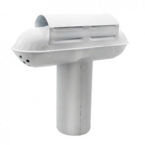 "Esalatore fumi modello ""tempest"" regolabile mm 110 - 115"