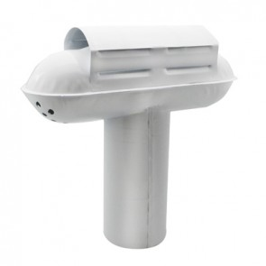 "Esalatore fumi modello ""tempest"" regolabile mm 120 - 125"