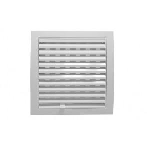 Griglia di aerazione quadrate con flusso regolabile cm 19x19