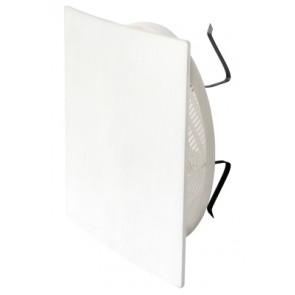Griglia di aerazione estetica quadro con regolazione aria diam. 80-125