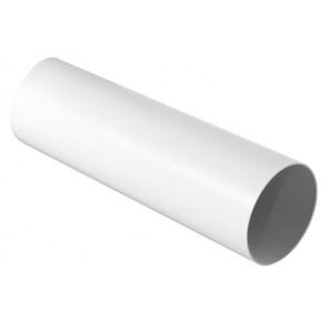 Tubo tondo per sistema di aerazione canalizzata bianco diam. 100 mm - lungh. 1000 mm