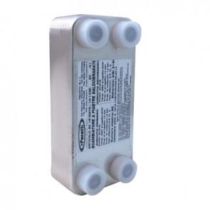 """Scambiatore di calore a piastre saldobrasato (-10°/+90°) 20 piastre - 3/4"""""""