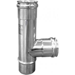 Tee acciaio 90° per canne fumarie ffm diam. 180