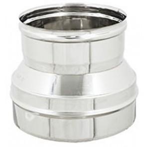 Riduzione inox per canne fumarie diam. m 140-f 130