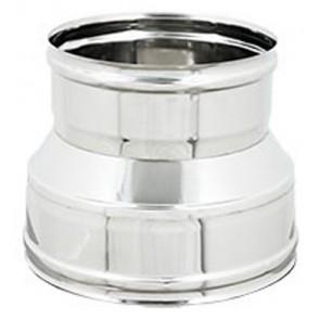 Manicotto ridotto ff per canne fumarie inox diam. f 250-f 200