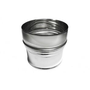 Aumento inox per canne fumarie diam. m 60 - f 80