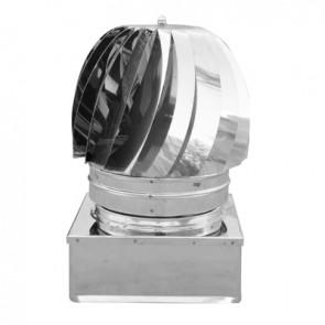 Tirafumi base quadra acciaio inox 450x450