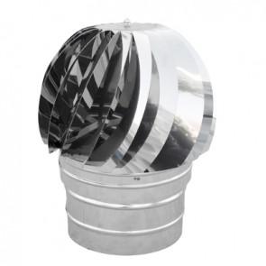 Tirafumi base tonda acciaio inox diam. 250