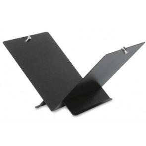Portalegna nero mod. woodbox h cm 30 - l. 58x39