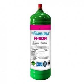 Bomboletta gas refrigerante ricaricabile r410a 800 gr.