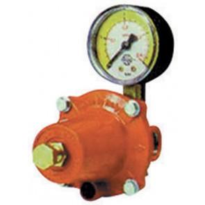 Regolatore gpl di alta pressione con manometro mod. apz250 kg. / h 30