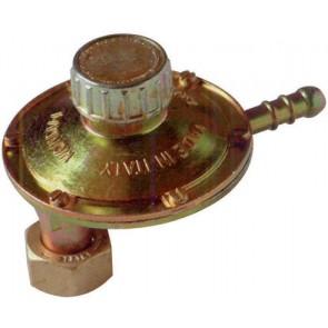 Regolatore gas con tartaura regolabile attacco verticale 1 kg/h