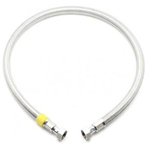 Flessibile per gas ff inox sicurgas ng cm 200 - 1/2x1/2