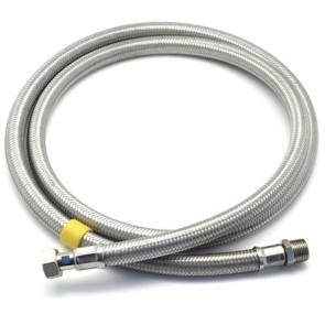 Flessibile per gas mf inox sicurgas ng cm 150 - 1/2x1/2