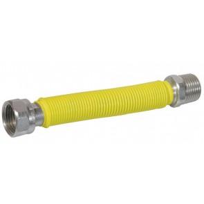 """Flessibile inox raccordo in acciaio rivestito mm 130 / 220 1"""""""