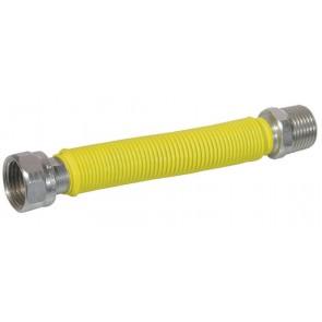Flessibile inox raccordo in acciaio rivestito mm 220 / 420 1/2