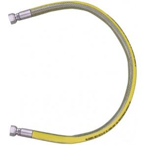 Tubo flessibile in acciaio ff per gas parigi cm 100