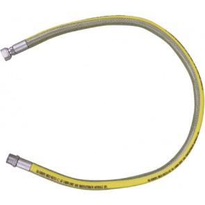 Tubo flessibile in acciaio mf per gas parigi cm 50