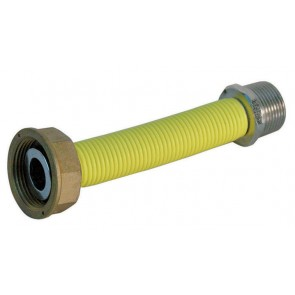 """Flessibile inox per contatore gas mf cm20 parigi 1""""1/4 x 3/4"""""""