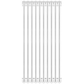 Radiatore tubolare in acciaio 3 colonne scomponibile mod.860 6 elementi