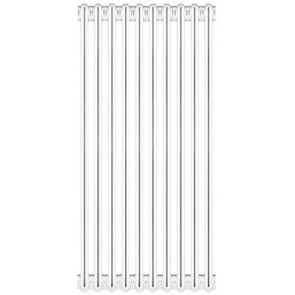 Radiatore tubolare in acciaio 3 colonne scomponibile mod.860 4 elementi