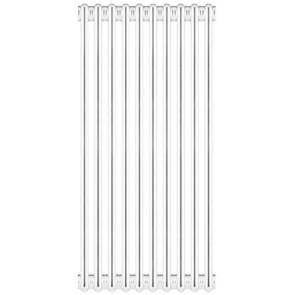 Radiatore tubolare in acciaio 4 colonne scomponibile mod.860 10 elementi