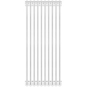 Radiatore tubolare in acciaio 4 colonne scomponibile mod.1800 4 elementi