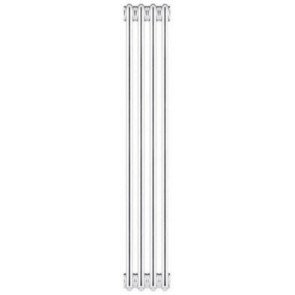 Radiatore tubolare in acciaio 4 colonne scomponibile mod. 2000 6 elementi