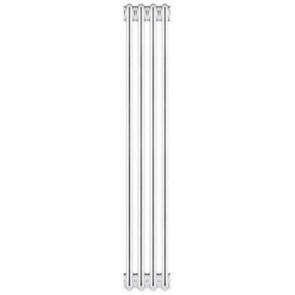 Radiatore tubolare in acciaio 4 colonne scomponibile mod. 2000 4 elementi