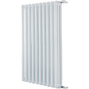 Radiatore tubolare in acciaio 3 colonne mod. 400 dl 10 elementi