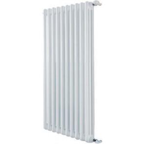 Radiatore tubolare in acciaio 3 colonne mod. 670 dl 6 elementi