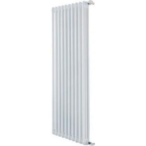 Radiatore tubolare in acciaio 3 colonne mod. 1800 dl 4 elementi