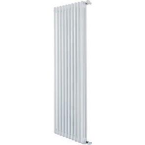 Radiatore tubolare in acciaio 3 colonne mod. 2000 dl 6 elementi