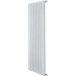 Radiatore tubolare in acciaio 3 colonne mod. 2000 dl 10 elementi