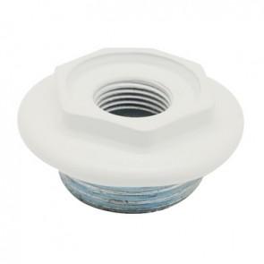 """Riduzione sx per radiatore fl 56 1""""1/4x1/2 Bianco"""