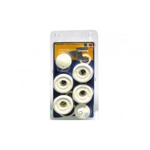 """Kit blister in plastica per radiatori in alluminio 1"""" x 3/8"""